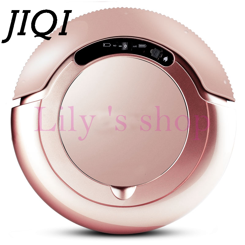 JIQI Sweeping robot hand push home wireless electric sweeper mop automatic vacuum cleaner dust catcher aspirator 100-240V vbot sweeping robot cleaner home fully automatic vacuum cleaner special offer clean robot mopping machine