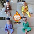 Spring Autumn winter summer children's clothing sets 2017 bear baby cotton long sleeved underwear suit children's home pajamas