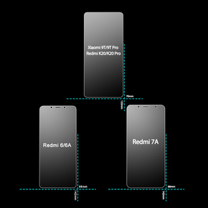 Image 3 - Protector de pantalla para Redmi K20 Pro vidrio templado 2.5D 9H película protectora de teléfono Protector de pantalla para Xiaomi vidrio Redmi 6A 7A
