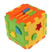 Baby Kid Matching Toy Bricks Matching Blocks Baby Intelligence Educational Sorting Box Toy