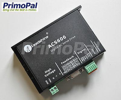 Leadshine ACS606 Digital AC Servo&DC Brushless Servo Drive, up to 60VDC/18A/200W XWJ leadshine dc servo driver acs606 brushless servo drive max 60 vdc 18a peak