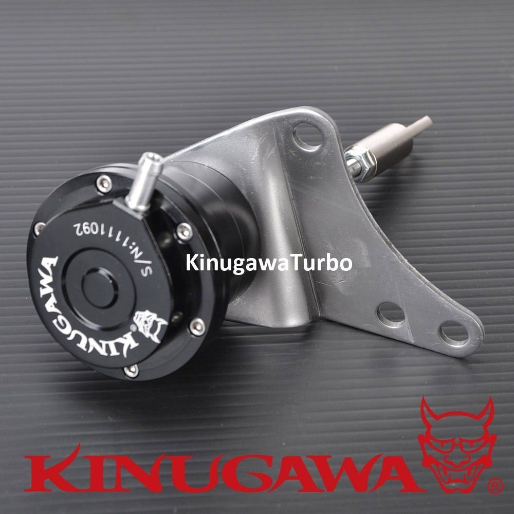Kinugawa Adjustable Turbo Wastegate Actuator for SUBARU Forester TD04L 1.0 bar / 14.7 Psi