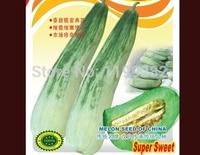 Promotion High Sugar Crispy Princess Sweet Melon Seeds Fruit Seeds Free Shipping