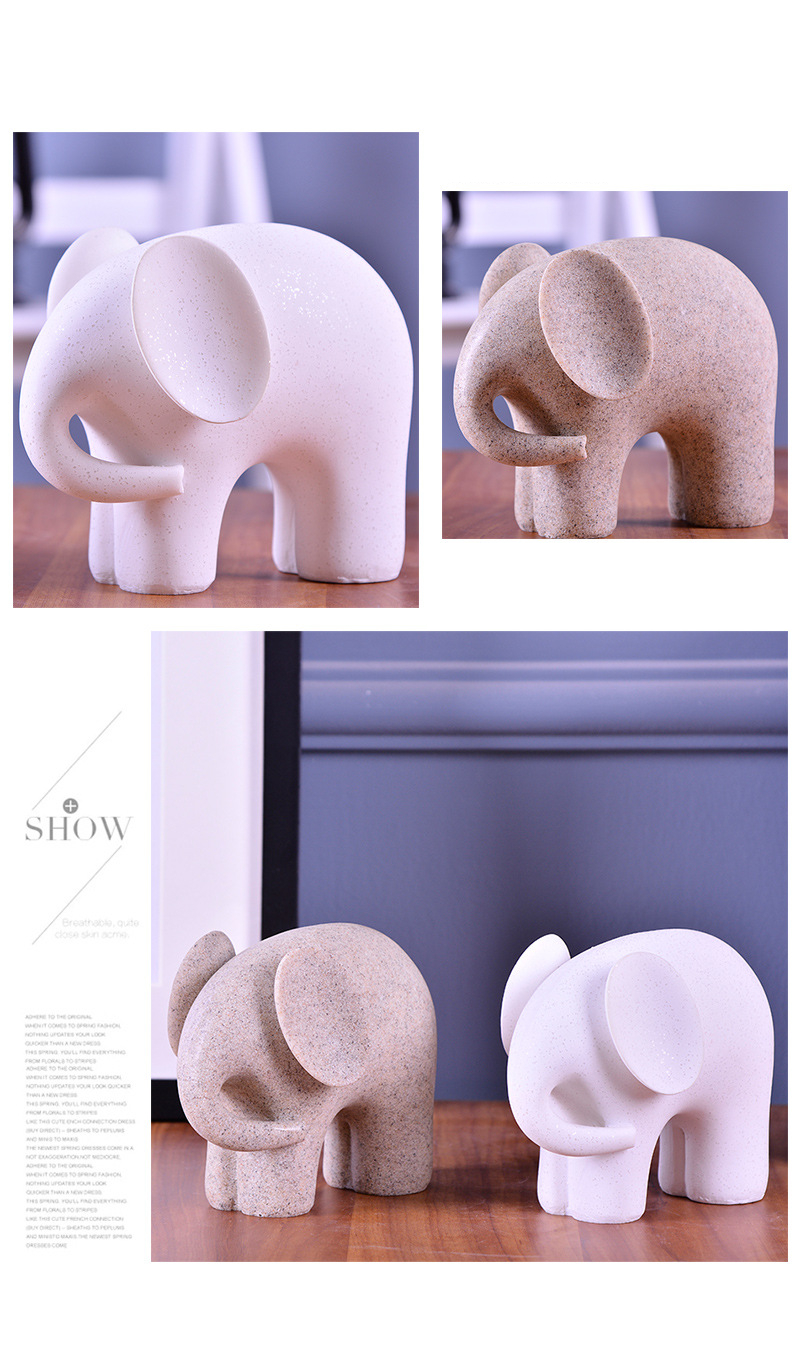 Elephant Figurines (12)