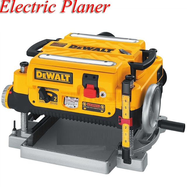 Woodworking Planer Table Planer Multi-function Small Electric Planer 2200W Planing Machine DW735