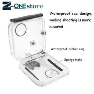 Image 4 - New 45M Underwater Waterproof Case for GoPro Fusion Camera Diving Housing Mount for GoPro Fusion Accessories