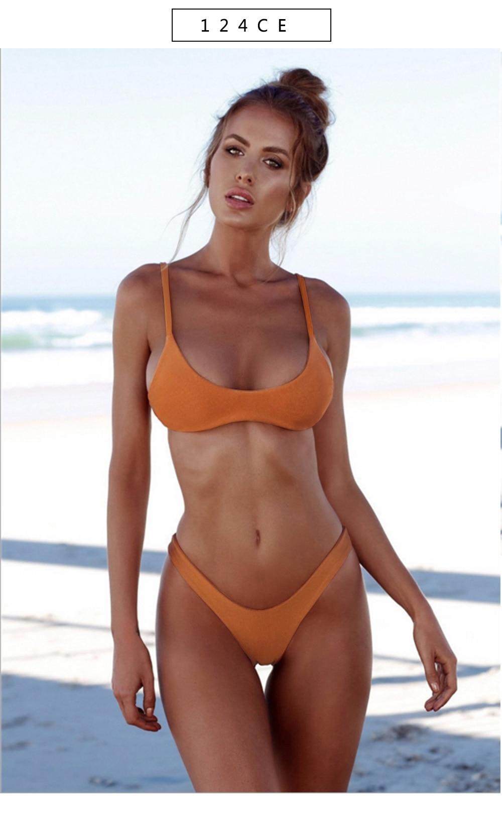 Wife in micro bikini