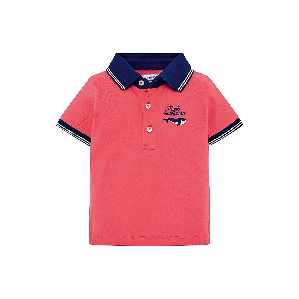MAYORAL Polo Shirts 10688794 children clothing t-shirt shirt the print for boys