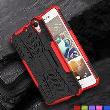 11295b7f2b5 Funda de silicona de Lujo + PC para HTC Desire 530 630 fundas de goma dura  para HTC Desire 825 HTC funda para teléfono 630
