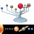 Crianças DIY Educacional Pintura Nove Planetas no Sistema Solar Planetário Brinquedos de Ensino de Ciências