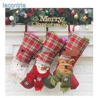 Hot Sale New Christmas Socks Gift Bag Christmas Tree Decoration Pendant Christmas Gifts Luxury Santa Socks