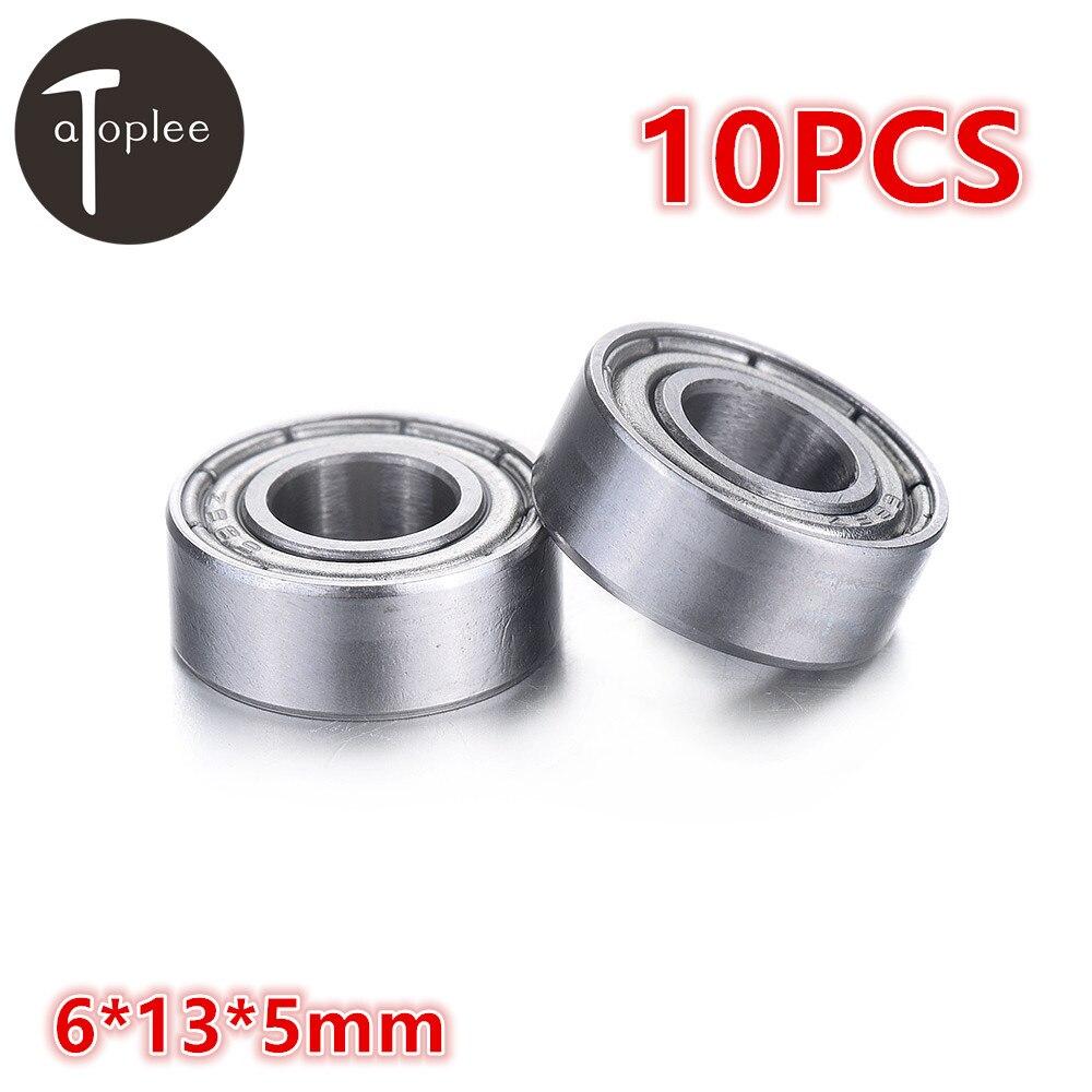 10pcs 686ZZ 6x13x5mm thin wall deep groove ball bearing 6*13*5mm L-1360ZZ