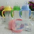 330 ml frasco de alimentação do bebê PP com alça garrafa calibre padrão de garrafa automático mamilo com leite YY1055
