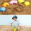 5 Pcs Sandbeach crianças praia crianças Favor areia jogando brinquedos castelo Bucket Spade pá ancinho ferramentas de água