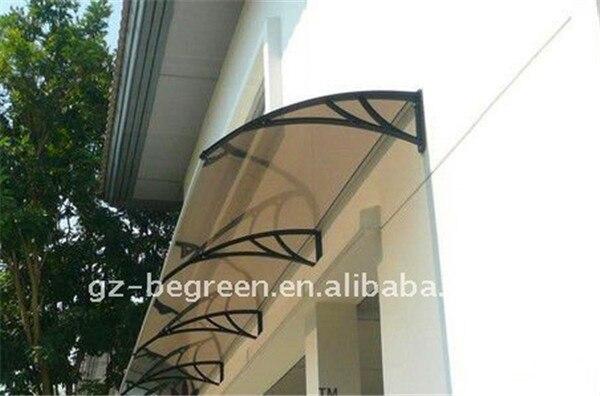 YP 80120 80x120 cm 31.5x47in profundidade 80 cm largura 120 cm claro/branco/black sombrinha toldo dossel policarbonato, toldo em policarbonato