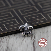 S925 Sterling Silver Brooch Personality Retro Punk Style Anchor Fashion Accessories Send A Gift To Love