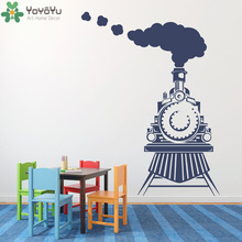 YOYOYU Classic Train Vinyl Wall Sticker Kids Room Cartoon Removeable Decal Nursery Bedroom Decoration Boy Poster ZX022