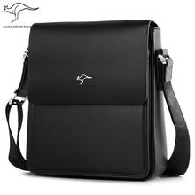 Kangaroo Kingdom Luxury Brand Men Bag Split Leather Business Casual Male Crossbody Shoulder Messenger Bags