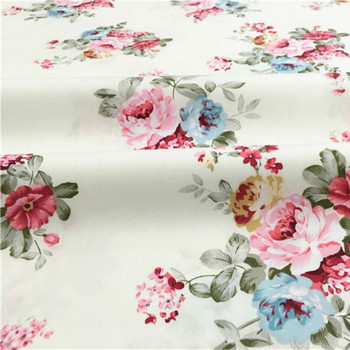 Buulqo 100% cotton twill  flower fabrics for DIY  Sewing textile tecido tissue patchwork bedding quilting 3