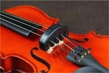 Kostenloser Versand Großhandel 10 Stücke Professionelle Violine Stumm Ruber Stumm Geige Violine Stumm für 4/4