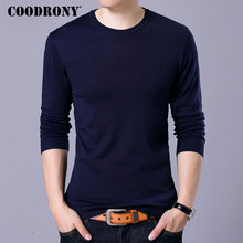 COODRONY Brand Sweater Men Knitwear Pull Homme Streetwear Classic Casual O-Neck Pullover Autumn Winter Woolen Sweaters 91055