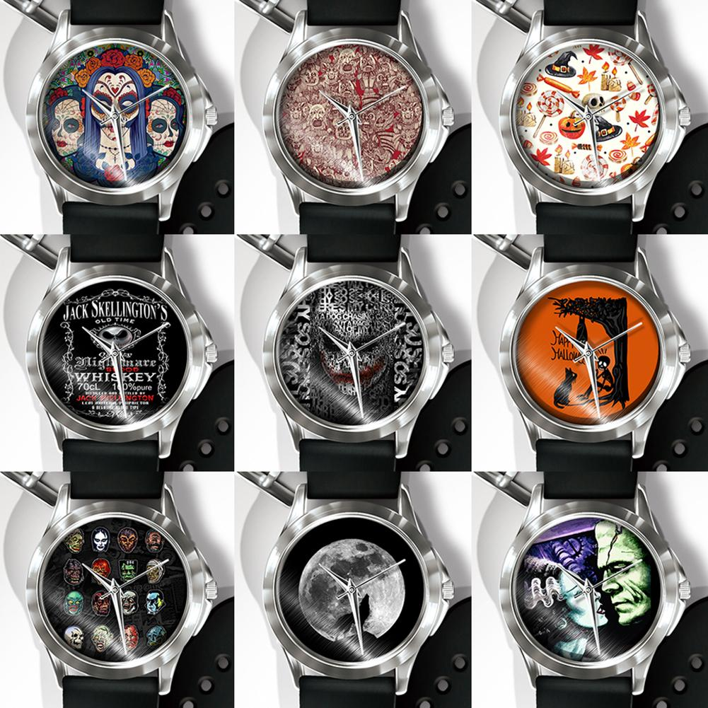 Halloween Skull Horror Punk Design PVC Band Quartz Analog Display Wrist Watch Hot Fashion 2018 Unisex Popular dropshipping william lederer a the completelandlord com ultimate real estate investing handbook