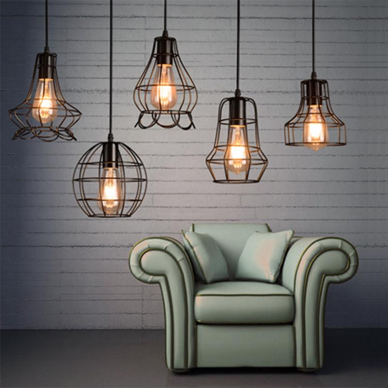 Hoover Industrial Pendant Light: NEW Arrival Classical Iron Pendant Light Industrial
