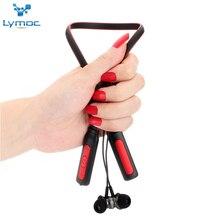 LYMOC HT-1 Neckband Bluetooth Headsets Sport Music Wireless Earphones Heavy Bass Stereo HD Microphone Phone Headphones Handsfree