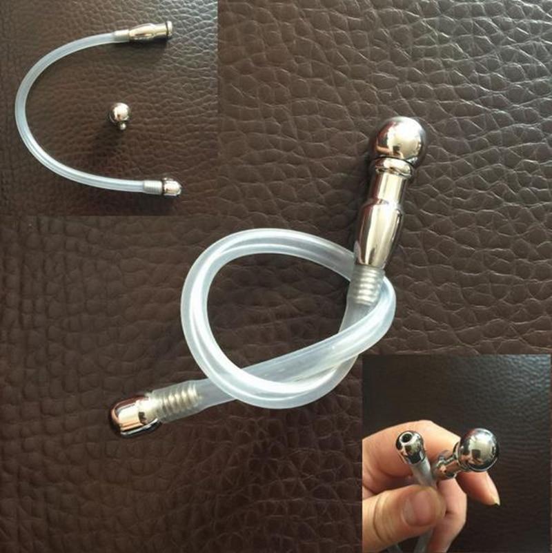купить Large size Stainless Steel Urethral Sounds Catheters Male Chastity Devices For Men Penis Plug Urethral Dilatators BDSM Sex Toys по цене 550.78 рублей