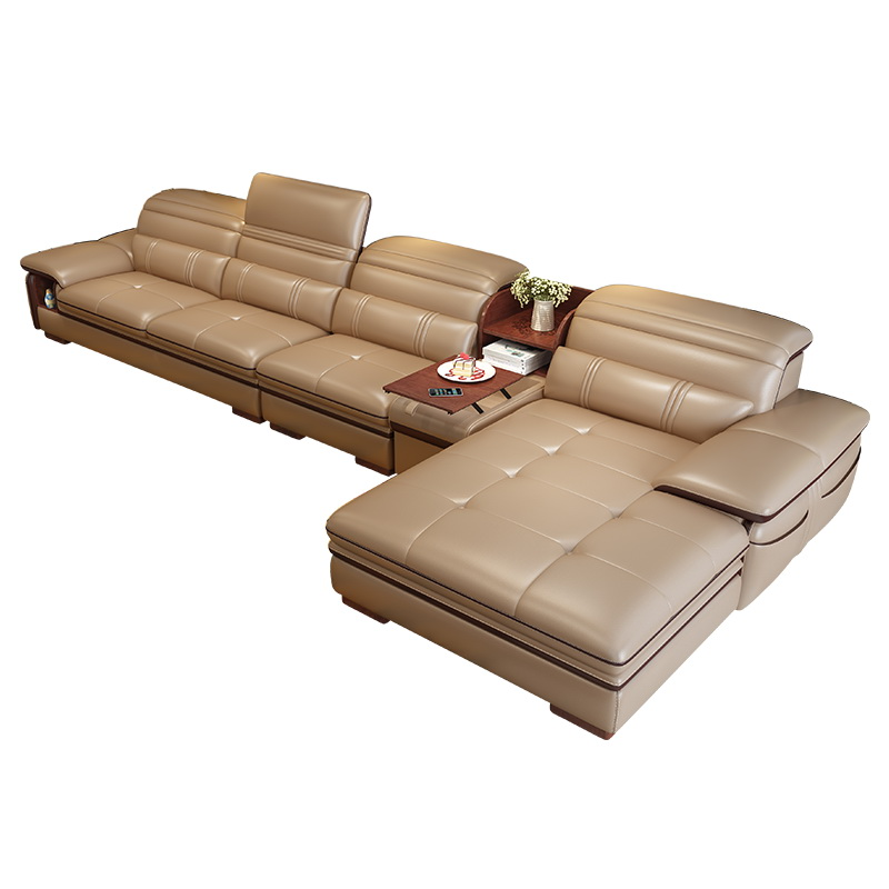 Living Room Sofa storage speaker real genuine leather sofas salon couch puff asiento muebles de sala canape L shape sofa camaLiving Room Sofa storage speaker real genuine leather sofas salon couch puff asiento muebles de sala canape L shape sofa cama