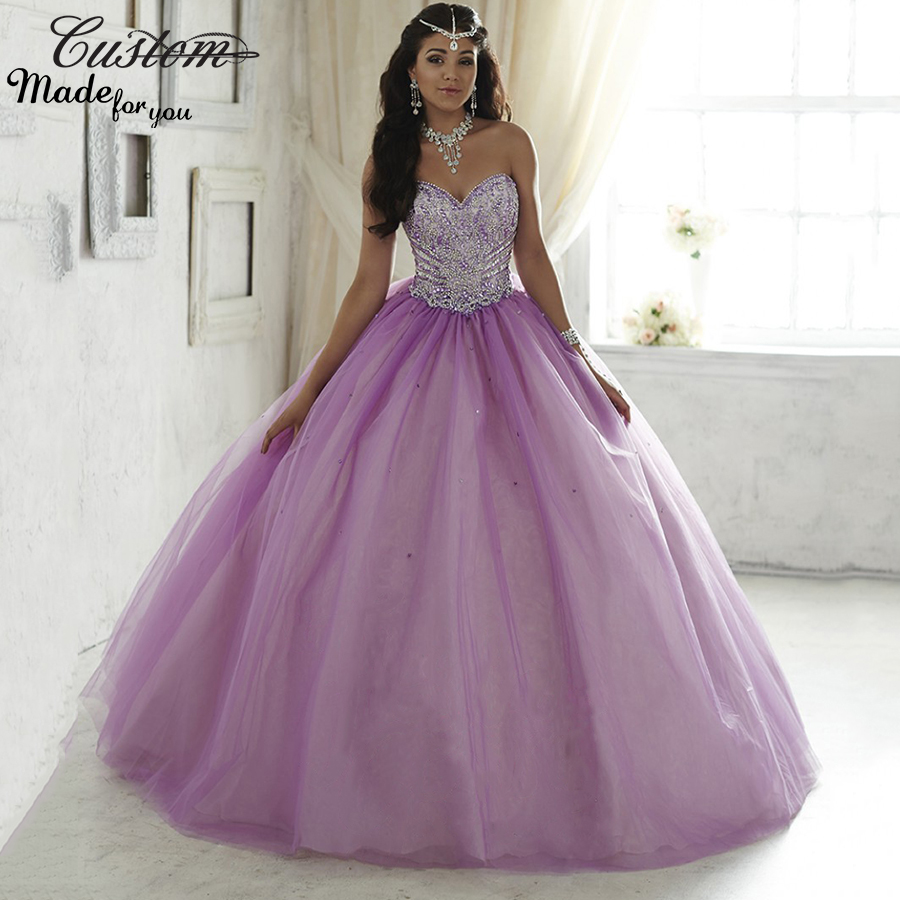 Popular Lilac Quinceanera Dresses-Buy Cheap Lilac Quinceanera ...