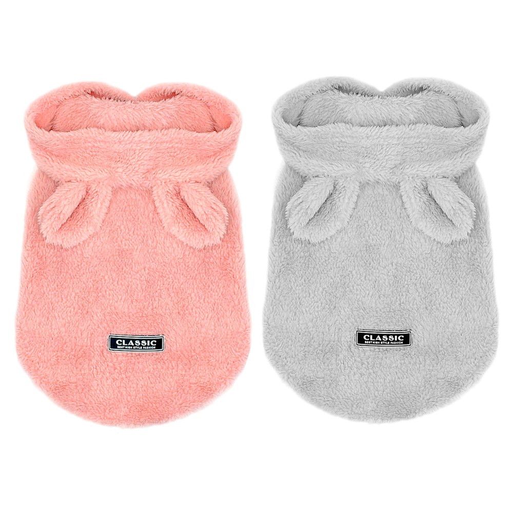 Cute Dog Cat Puppy Clothes Chihuahua Clothing Jacket For Small Medium Dogs Soft Fleece Winter Pet Cat Costume For Yorkshire