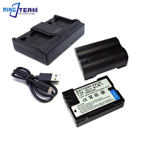 BLM 01 PS BLM1 Battery 2x & Dual Charger for Olympus C 5060 C 7070 C 8080 E 1 E 3 E 30 E 300 E 330 E 500 E 510 E 520 SLR Cameras