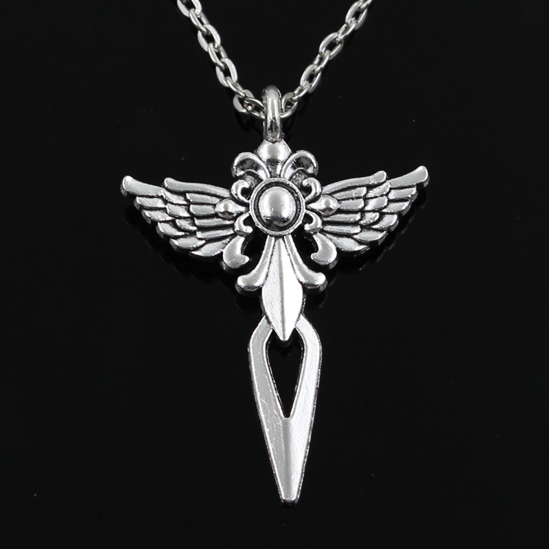 new fashion cross dagger Pendants round cross chain short long Mens Womens silver necklace Jewelry Gift