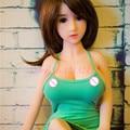 Новый 100 см Реального Силиконовые жизнь размер куклы, Реалистичные реальные силиконовые мини секс кукла с большой грудью устных влагалище сексуальные игрушки для человек