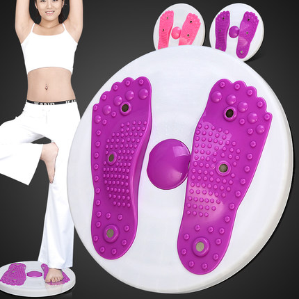 Twisted waist plate home fitness equipment thin waist large weight loss torsion machine slim dance machine switch to equipment 1005d fitness equipment crazy fit massage health crazy fit mini plate powerful equipment to lose weight exercise machine 300w