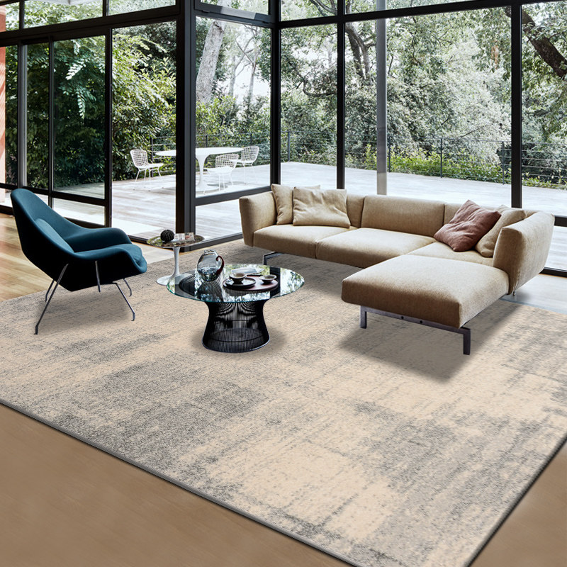 Nordic Luxury Carpet Livingroom Home Decorative Carpet Bedroom Sofa Coffee Table Rug Office Polypropylene Floor Mat Study Rugs