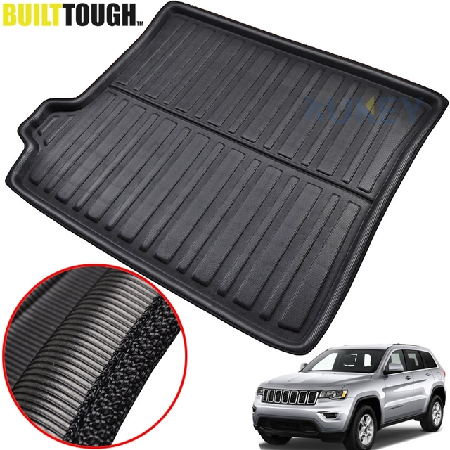For Jeep Grand Cherokee WK2 2011   2018 Car Rear Trunk Liner Cargo Boot Mat  Floor