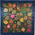 90cm*90cm 2016 new design scarf women's scarf shawl cape silk chiffon tippet muffler Scarves