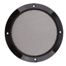 hot deal buy 2pcs black replacement round speaker protective mesh net cover speaker grille 2/3/4/5/6.5/8/10 inch for choices