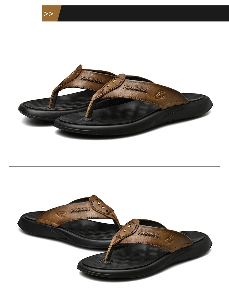 Camel Active 2019 New Men Slippers Genuine Leather Men Beach Shoes Brand Casual Shoes Slippers Summer Flip Flops 19359 Womens Trainers Kids Boots From