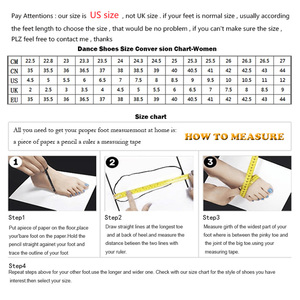 Image 5 - Ladingwu Hot Selling Womens Genuine Leather Shoes Ballroom Dance Competition Shoes Black Latin Dance Shoes Heel 6/7/7.5/8.3cm