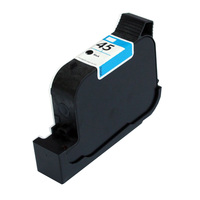1X Black 51645A CAD Plotters Ink Cartridge For HP 45 Deskjet 710c 720c 815c 820cxi 830c