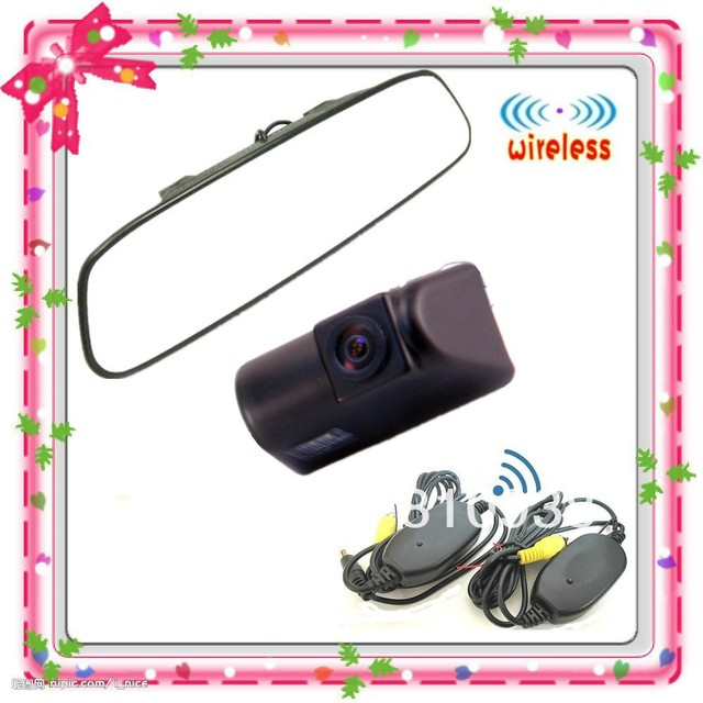 """CAR KIT HD Special Wireless BACKUP Reversing Camera Car For Ford Transit+4.3""""  Rear View Mirror Monitor"""