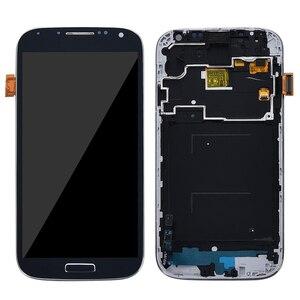 Image 3 - 5.0 شاشات lcd لسامسونج غالاكسي S4 شاشة الكريستال السائل مع الإطار GT i9505 i9500 i9505 i9506 i9515 i337 محول الأرقام بشاشة تعمل بلمس