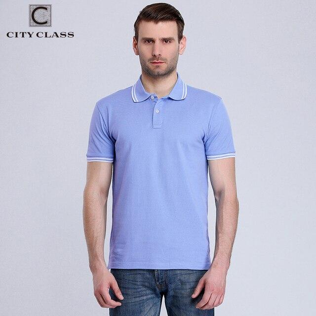 市クラス新しいメンズ綿ポロシャツブランド服ビジネスカジュアル固体男性半袖通気性ポロシャツ