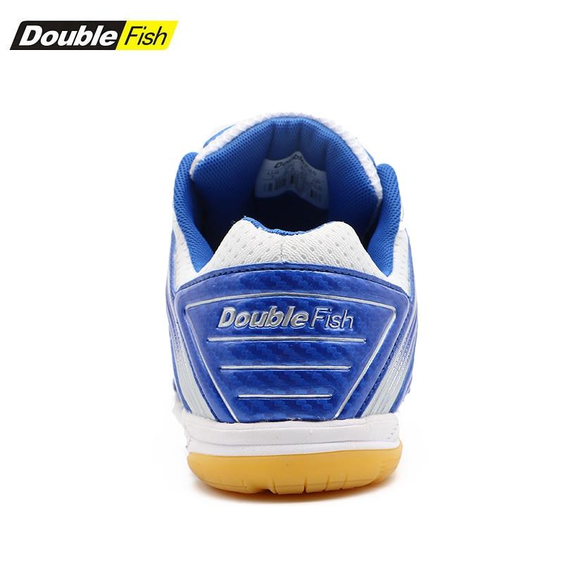 Double Poissons Amorti homme femme Non-slip Respirant tennis de table Chaussures Sports de Plein Air Formation Baskets Résistant à l'usure chaussures de sport - 6