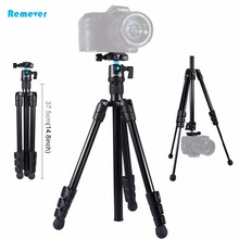 Professional Portable Travel Aluminum Camera Tripod With Ball Head Stabilizer Fill Light for DSLR Canon Nikon Digital Cameras shoot 4 sections professional flexible aluminum camera tripod for canon nikon dslr digital camcorder with ball head accessories