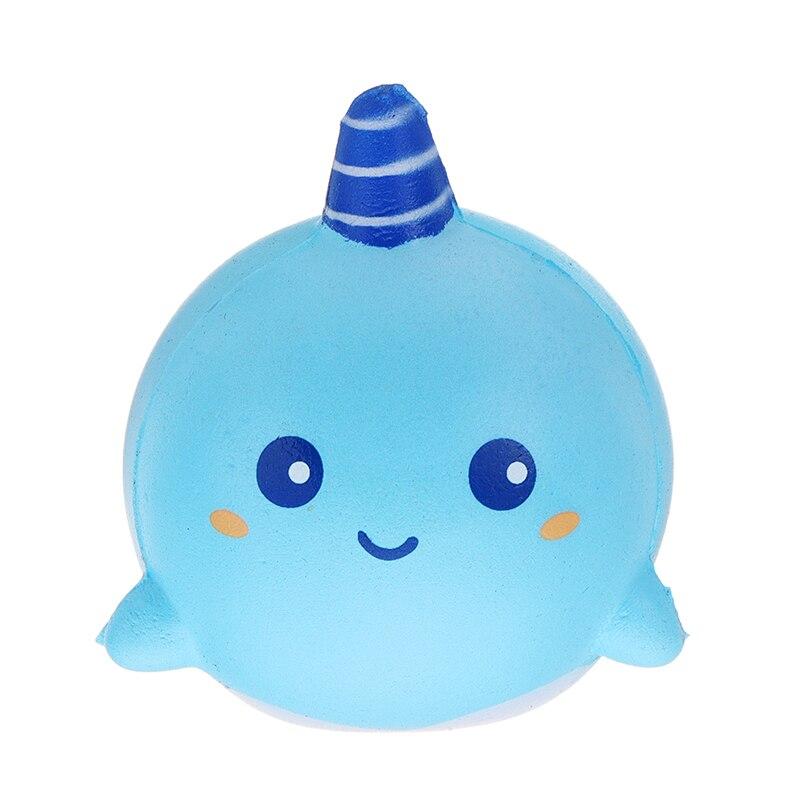 Squishyed игрушка Нарвал Uni КИТ Джамбо 11 см замедлить рост с упаковка коллекции подарок мягкие Squishying игрушки для детей Детский