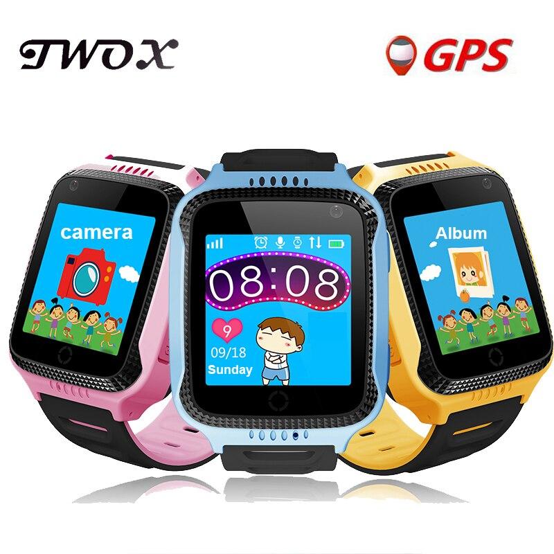 imágenes para TWOX Q528 Y21 GPS Reloj Inteligente Con Bebé Linterna Reloj táctil Dispositivo de Localización de Llamadas pantalla SOS Perseguidor de Seguros para Niños PK Q50 Q100